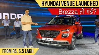 2019 Hyundai Venue SUV Launched In India From Rs. 6.5 Lakh