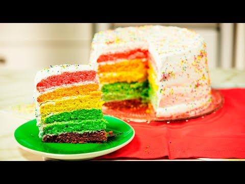 Rainbow Cake | Penguin