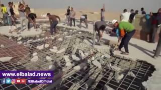 محافظ الجيزة: إزالة 5 مخالفات بناء ورفع 1500 طن أعمال هدم في هضبة الأهرام .. فيديو وصور