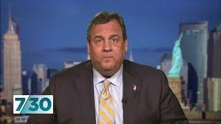 Donald Trump confidant Chris Christie interview on Michael Cohen's testimony   7.30