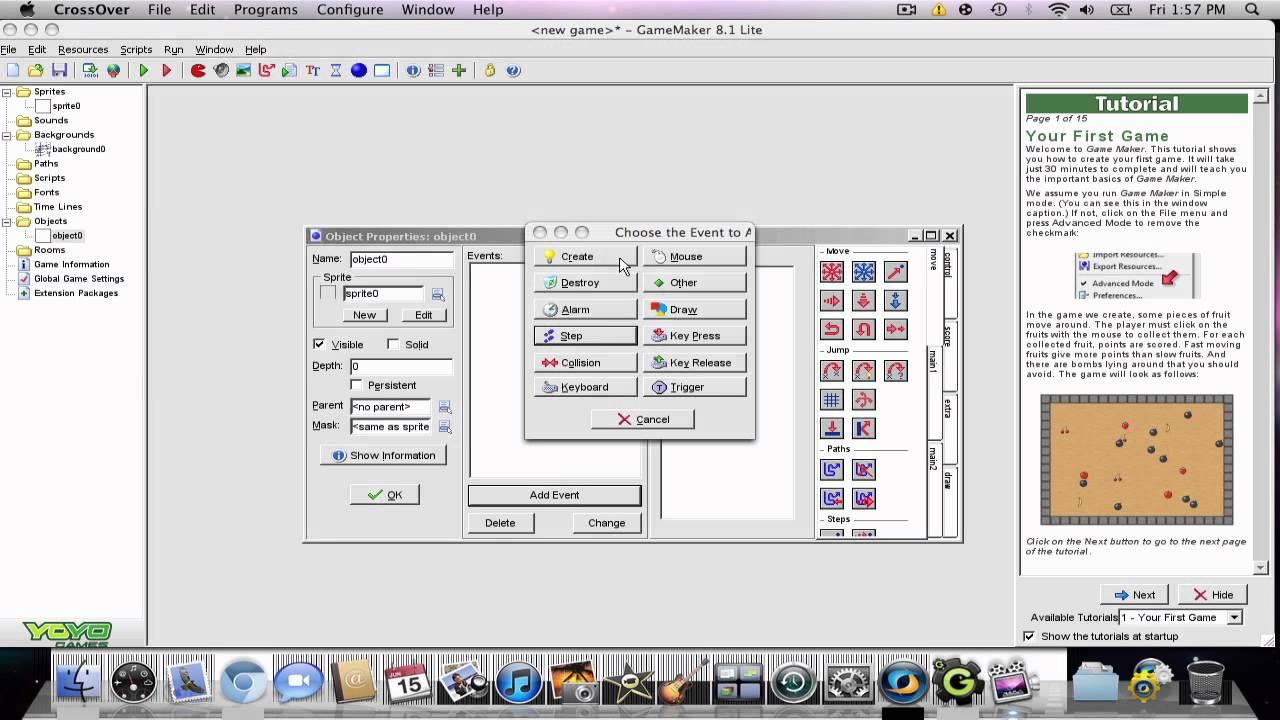 Game Maker 8 1 For Mac Youtube