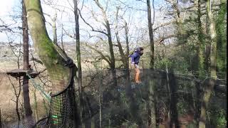 Nouveau : Trampoforest au Domaine de Lanniron à Quimper