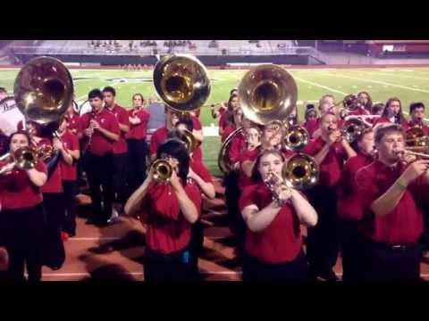 Cabot Freshman Band - Comin' At Ya! Halftime, October 2, 2014