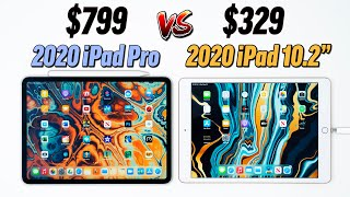 "2020 iPad Pro vs 2020 iPad 10.2"" - Ultimate Comparison"