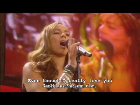 Leona Lewis  Better in Time  Nelson Mandela 90th  Lyrics Sub Thai  Eng แปลเพลงสากล