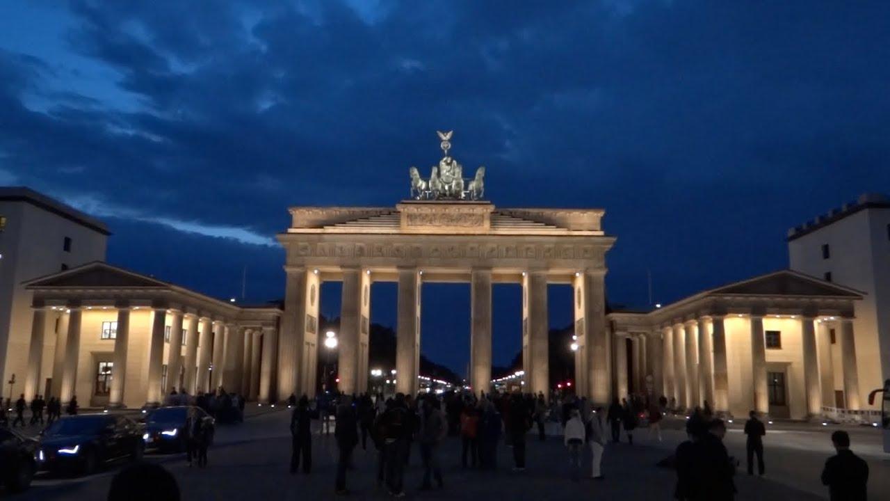 Berlin Germany Brandenburg Gate Hd 2013 Youtube