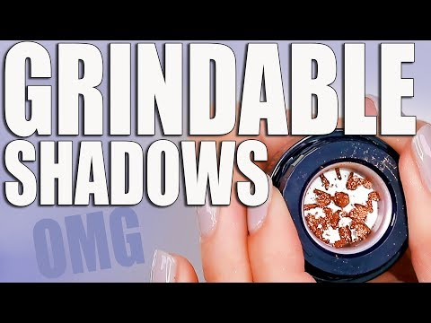 GRINDABLE EYESHADOWS ... OMG