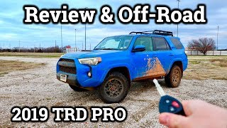 2019 Toyota 4Runner TRD PRO OFF-ROAD REVIEW | Featuring Tacoma TRD PRO