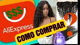Como comprar cabelo NO ALIEXPRESS????🇧🇷🇱🇷 screenshot 1