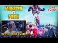 Ninja Reacts To Monster vs Mech Event!!