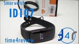 smartwatch id107 review espaol