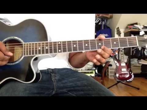 Shikaru Guitar Lesson - Major Scales and Chords