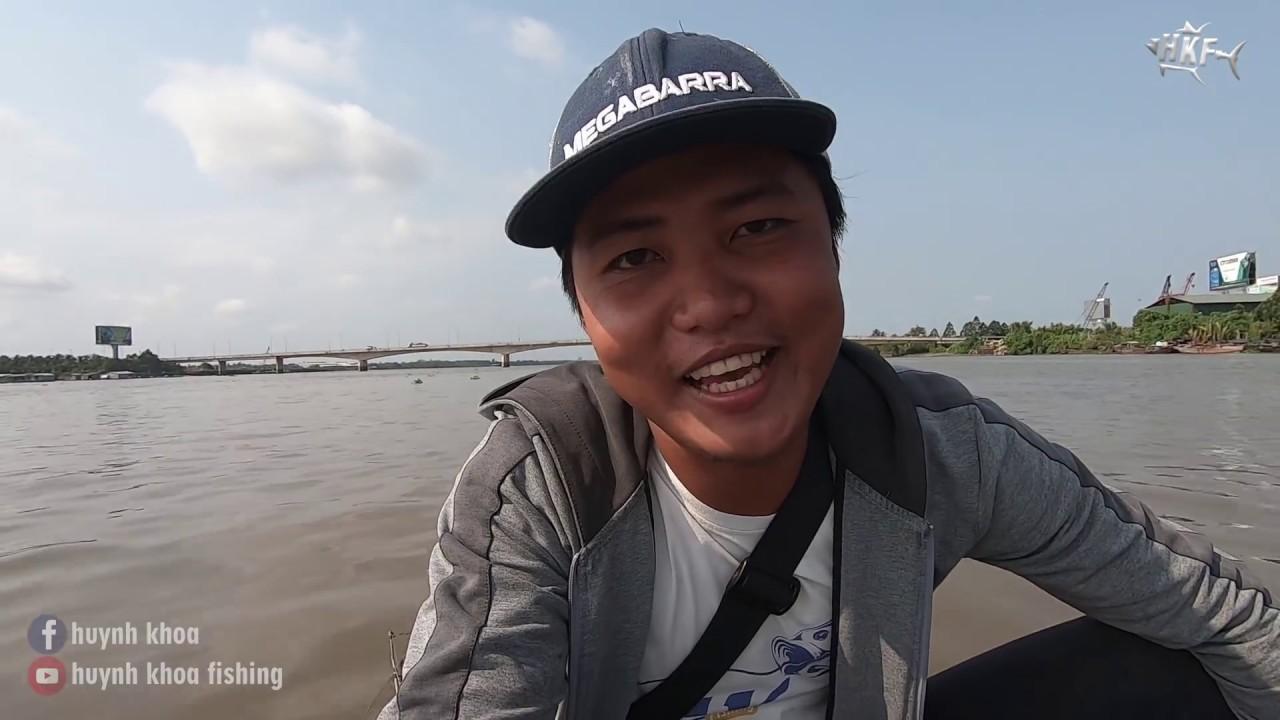 CÂU CÁ TRA SÔNG TIỀN ! mồi câu cá huỳnh khoa