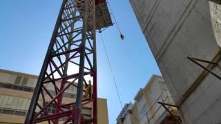 видео Scanclimber SC 2032- грузопассажирский подъемник (строительный лифт)