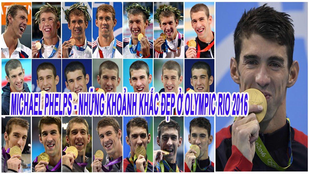 Michael Phelps - những khoảnh khắc đẹp ở Olympic Rio 2016.