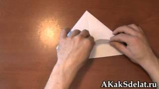 Как из бумаги сделать шапку
