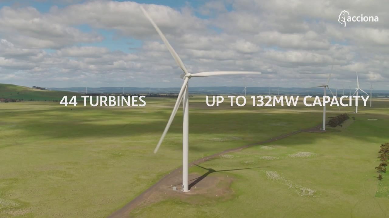 Mt Gellibrand Wind farm | ACCIONA
