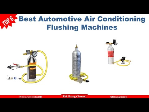 Top 6 Best Automotive Air Conditioning Flushing Machines With Price