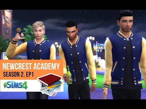 HIGH SCHOOL DRAMA | NEWCREST ACADEMY | SEASON 2. EP. 1 | A Sims 4 Series