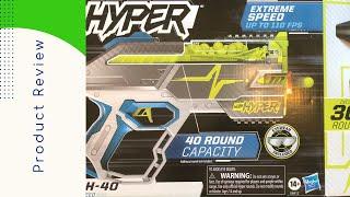 Nerf Hyper Rush 40 Review