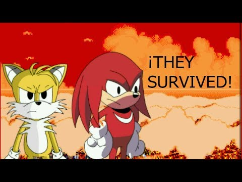 THE FULL VERSION OF SONIC EXE SPIRITS OF HELL / Tails And Knuckles Survived