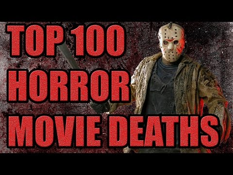 Top 100 Horror Movie Deaths (Part I) #100-#81