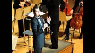 Jean Francaix - Clarinet Concerto: I. Allegro (Audio)