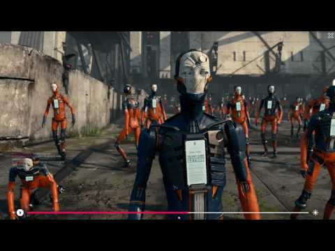 downloaded Adam unity tech demo for a try