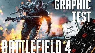 Battlefield 4 PC | LOW-ULTRA GRAPHIC TEST | GTX 660 & Core 2 Duo