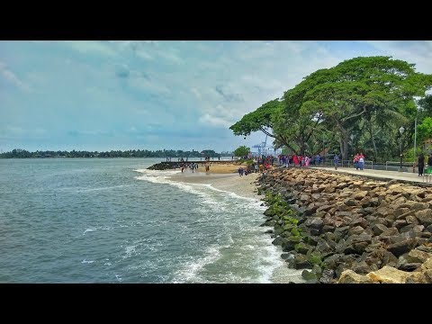 Fort Kochi beach in Cochin