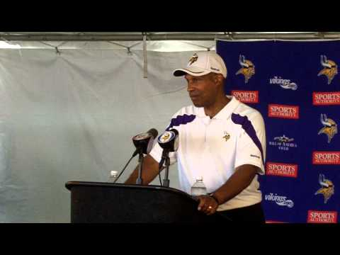 Vikings Training Camp 2011: Head Coach Leslie Frazier Part 2
