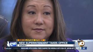 New PUSD superintendent takes office