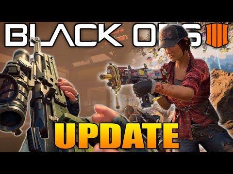 Black Ops 4 Update: The Weirdest BO4 Update Yet!