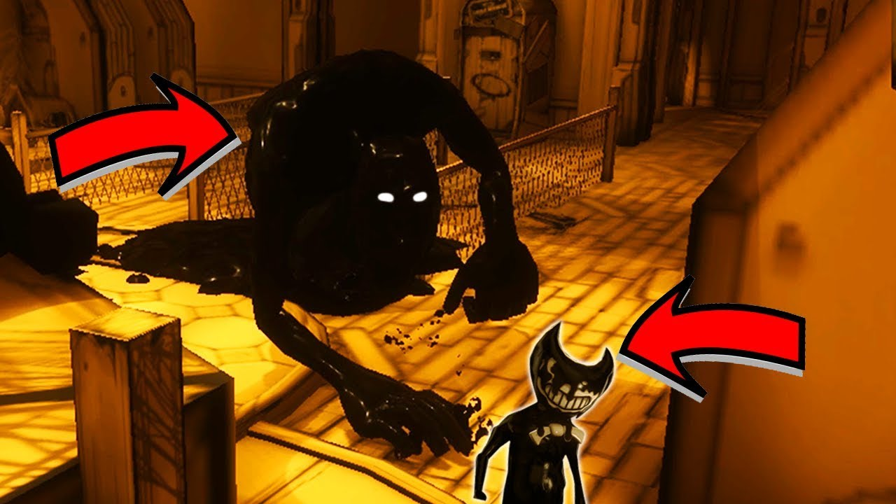 Final Ink Boss Bendy And The Ink Machine Chapter 3