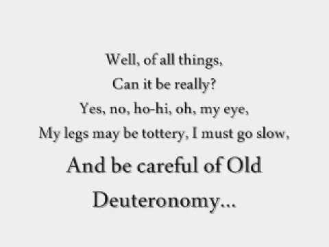 CATS [Original London Cast Recording]; Old Deuteronomy ...