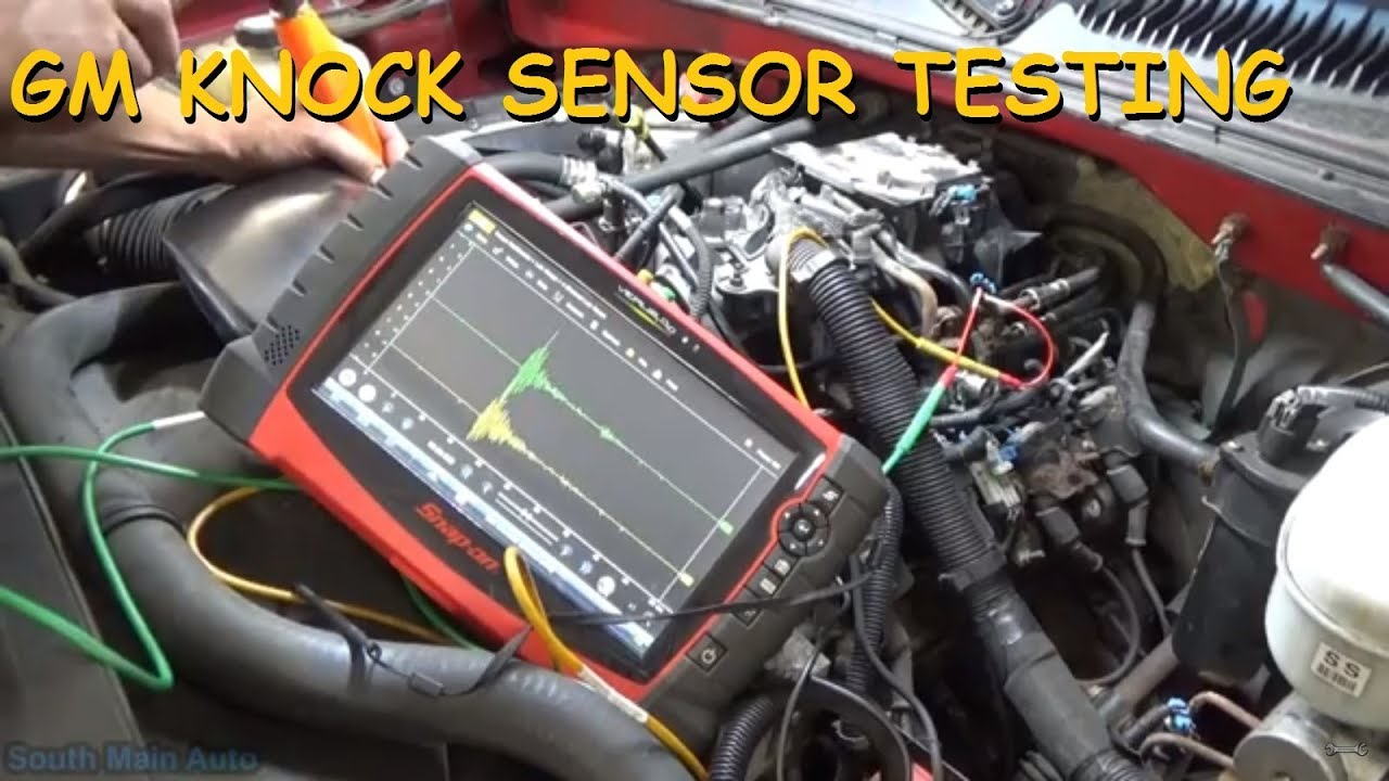 How To Diagnose GM Knock Sensors - P0327 & P0332 - YouTube