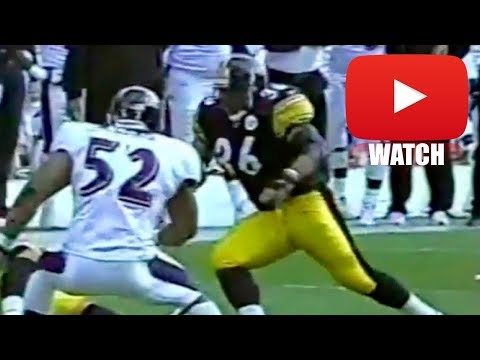 When Jerome Bettis Met Ray Lewis (HD)