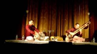 Josh Feinberg Bageshree Alap, Rupak, Tintal Part 2