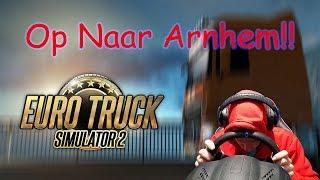 Euro Truck Simulator 2 Op Naar Arnhem!!