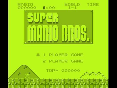 <b>Super Mario Bros</b> NES <b>Game</b> Boy Mode <b>Game Genie Code</b> - YouTube