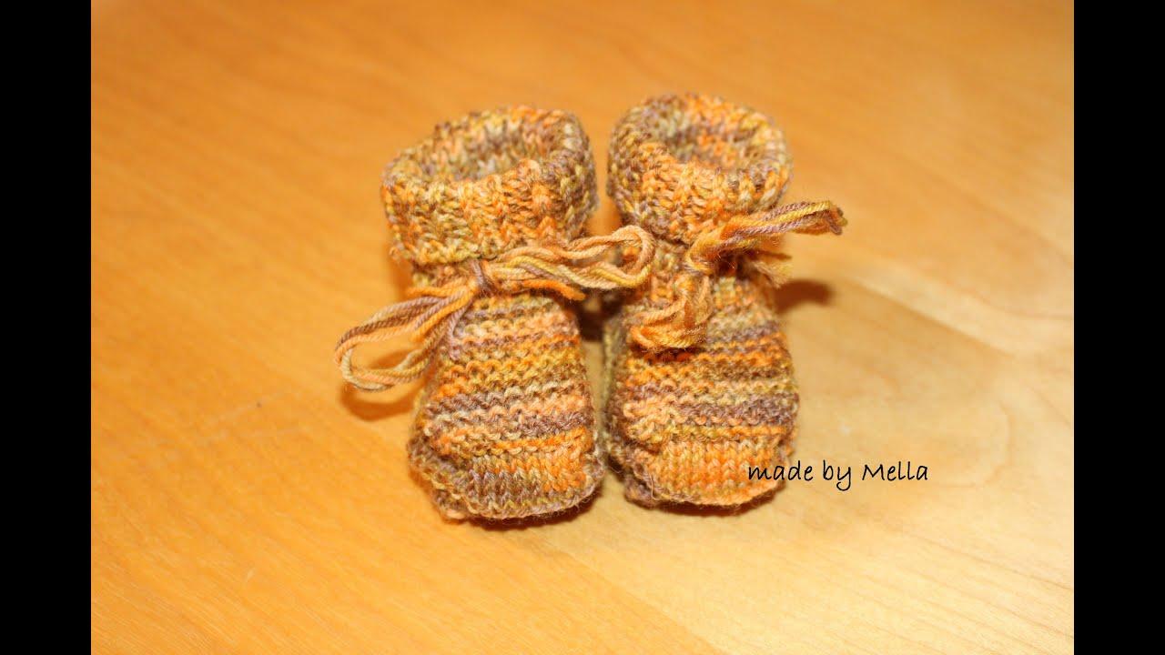 Baby Puschen Babyschuhe Babysocken Babysöckchen für Neugeborene ...