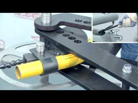 Трубогиб гидравлический универсальный HPB-1000 Blacksmith