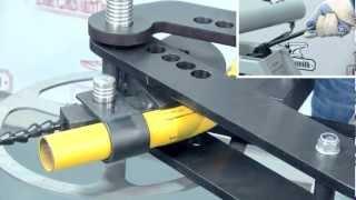 видео гидравлический трубогиб