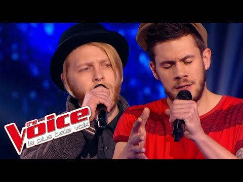 The Voice 2015│Thomas Kahn VS Greg Harisson - One (U2)│ Battle