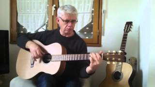 Goodnight Waltz ( Guitar Cover ) Doc Watson