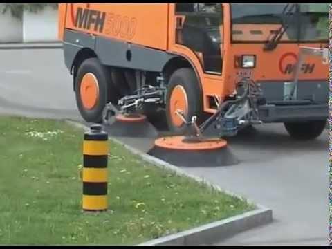 Balayeuse AEBI MFH 5000 / Street Sweeper, Kehrmaschine, Veegmachine, Balai de Rue, Fejemaskine