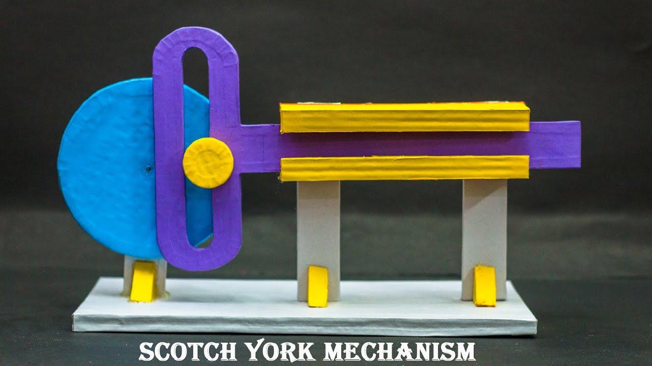 School Science Projects | Scotch York Mechanism