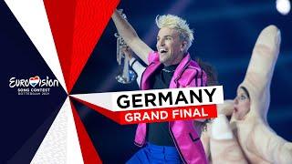 Jendrik - I Don't Feel Hate - Germany 🇩🇪 - Grand Final - Eurovision 2021