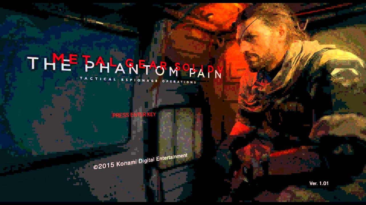 Metal Gear Solid V TPP Windows 7 WHITE SCREEN & NO AUDIO *FIX*