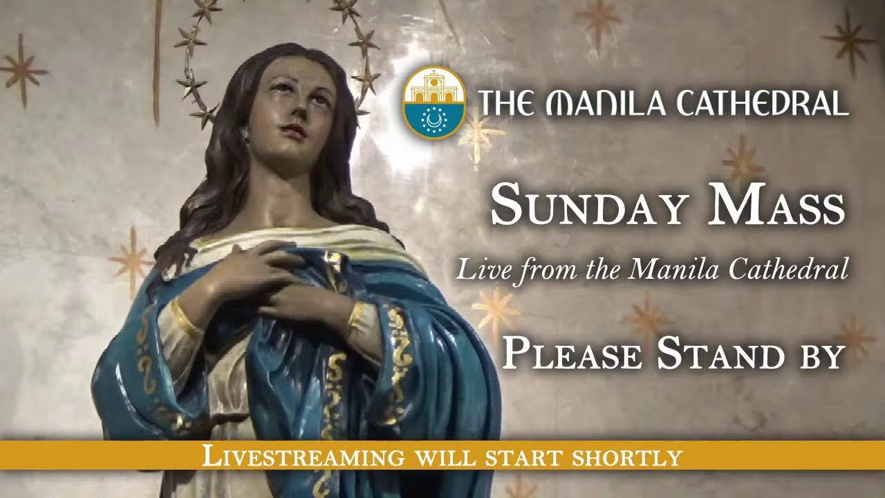 Sunday Mass at the Manila Cathedral - January 17, 2021 (6:00pm)